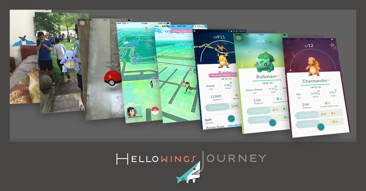 Pokémon GO !直飛日本成為神奇寶貝大師